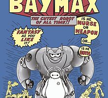 The incredible Baymax! by salinero14