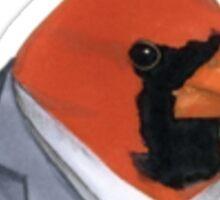 Fancy Cardinal Sticker