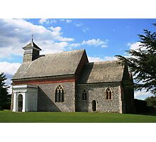 Flint church in Kent Photographic Print