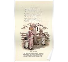 LIttle Ann and Other Poems by Jane and Ann Taylor art Kate Greenaway 1883 0040 The Spider Poster