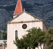 St. Marks church, Makarska Sticker