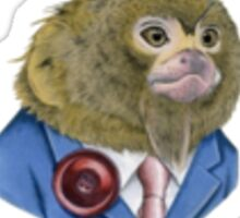 Pygmy Marmoset in a Suit Sticker