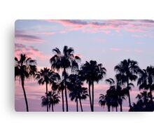 San Diego Cotton Candy Sunset CALIFORNIA Canvas Print