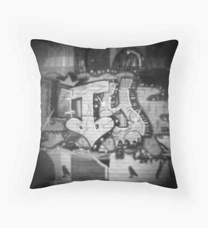 Diana Graffiti Throw Pillow
