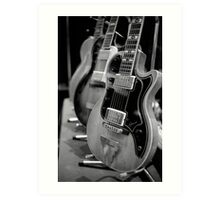 Glenwood Electric Guitar Art Print