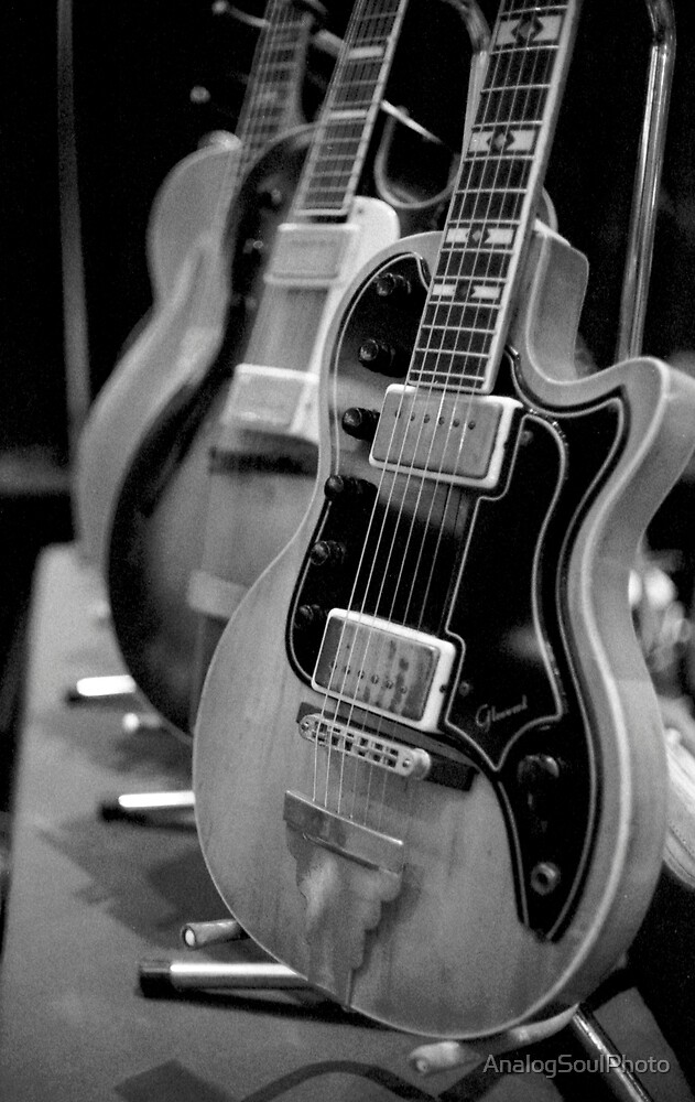 Glenwood Electric Guitar by AnalogSoulPhoto