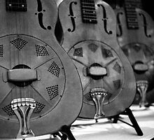 A Row of Resonators by AnalogSoulPhoto