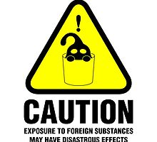 Suu Hazard Sign (English version, for light backgrounds) by LoganAgle