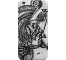 Abstract Untitled iPhone Case/Skin
