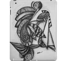 Abstract Untitled iPad Case/Skin