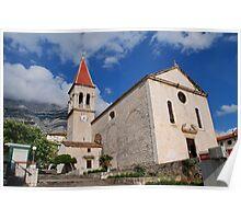 Church of St. Mark at Makarska, Croatia Poster