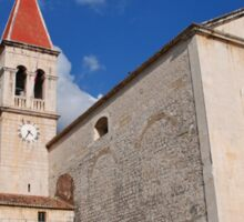 Church of St. Mark at Makarska, Croatia Sticker