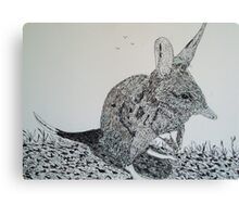 The Bilby Canvas Print
