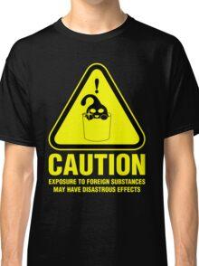 Suu Hazard Sign, Mischievous Version (English text, for dark backgrounds) Classic T-Shirt