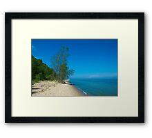 Port Washington Beach Framed Print