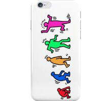HARING EVOLVES by Tai's Tees iPhone Case/Skin