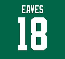 Dallas Stars Patrick Eaves Jersey Back Phone Case by Russ Jericho