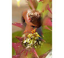 Thorny problem-Planting roses Photographic Print
