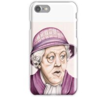 The original Miss Marple : Dame Margaret Rutherford (501 views as at 16th August 2011) iPhone Case/Skin