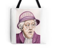 The original Miss Marple : Dame Margaret Rutherford (501 views as at 16th August 2011) Tote Bag
