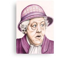 The original Miss Marple : Dame Margaret Rutherford (501 views as at 16th August 2011) Metal Print