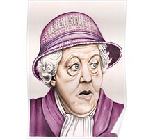 The original Miss Marple : Dame Margaret Rutherford (501 views as at 16th August 2011) Poster