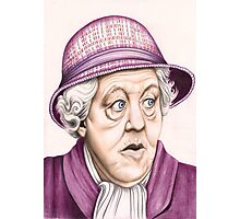 The original Miss Marple : Dame Margaret Rutherford (501 views as at 16th August 2011) Photographic Print