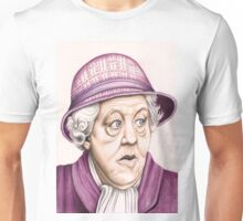 The original Miss Marple : Dame Margaret Rutherford (501 views as at 16th August 2011) Unisex T-Shirt