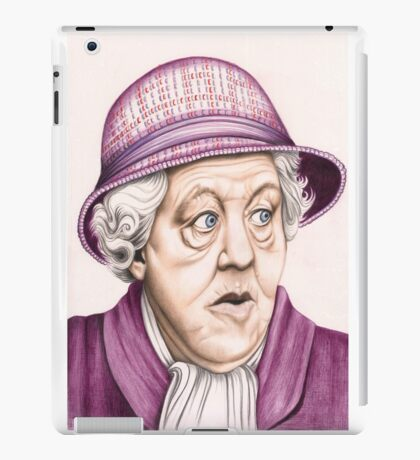 The original Miss Marple : Dame Margaret Rutherford (501 views as at 16th August 2011) iPad Case/Skin