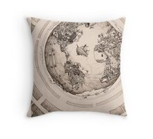 Global Invasion Throw Pillow