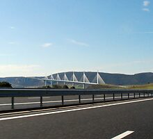 Millau Viaduc, France by Ben Leow