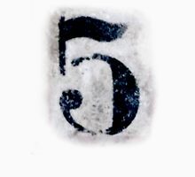 Dirty five, Filthy 5, NUMBER 5, FIFTH, 5, FIVE, Competition, TEAM SPORTS, Womens Fitted T-Shirt