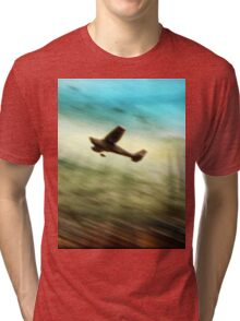 ©DA Flying By IA. Tri-blend T-Shirt
