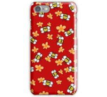 Bee Happy Honey Bees iPhone Case/Skin