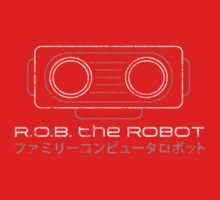 R.O.B. The Robot - Retro Minimalist - Red Dirty by garudoh