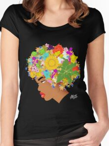Flower 'Fo Women's Fitted Scoop T-Shirt