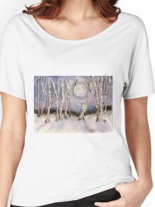 Winter Landscape Women's Relaxed Fit T-Shirt