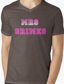 Mrs Grimes Mens V-Neck T-Shirt