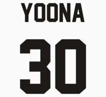 SNSD Yoona Jersey One Piece - Short Sleeve