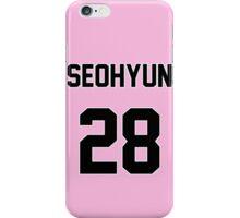SNSD Seohyun Jersey iPhone Case/Skin