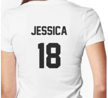 Jessica Jung Jersey Womens Fitted T-Shirt