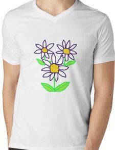 DAISIES  T Shirt Mens V-Neck T-Shirt