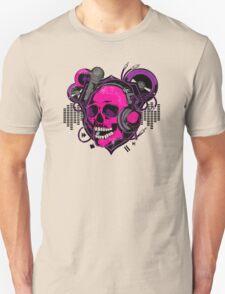 Karaoke Skull! Unisex T-Shirt