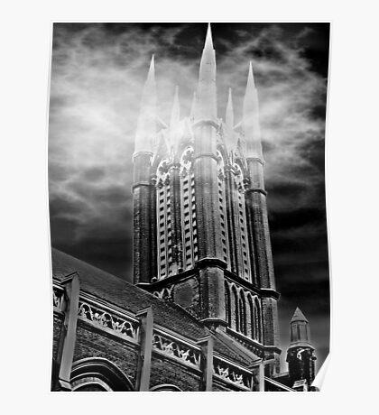 Church Spires Poster