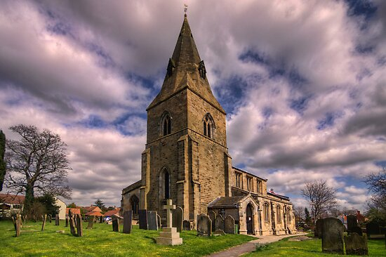 Misterton All Saints Church by Ray Clarke
