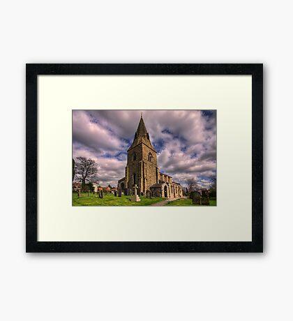 Misterton All Saints Church Framed Print