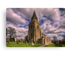 Misterton All Saints Church Canvas Print