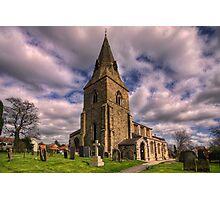 Misterton All Saints Church Photographic Print