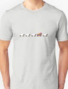 Be the Rainbow Sheep! Unisex T-Shirt