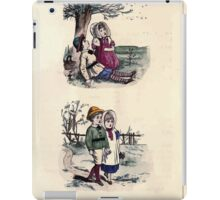 The Little Folks Painting book by George Weatherly and Kate Greenaway 0077 iPad Case/Skin